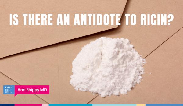 antidote to ricin