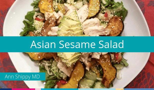 asian sesame chicken salad paleo recipes meals mealprep