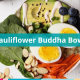 cauliflower rice buddha bowl