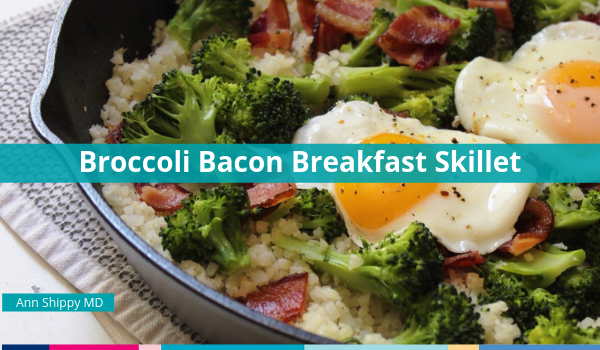 broccoli bacon breakfast skillet