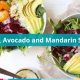 beet avocado mandarin orange salad with poppyseed dressing