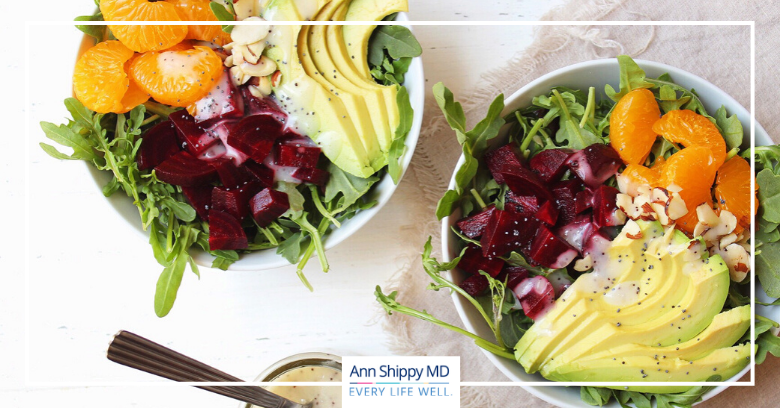 Beet, Avocado and Mandarin Salad