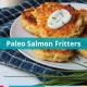 paleo salmon fritters