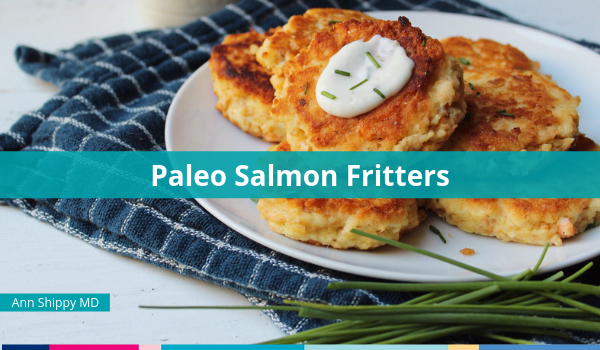paleo salmon fritters