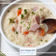 cauliflower ham soup Paleo soup
