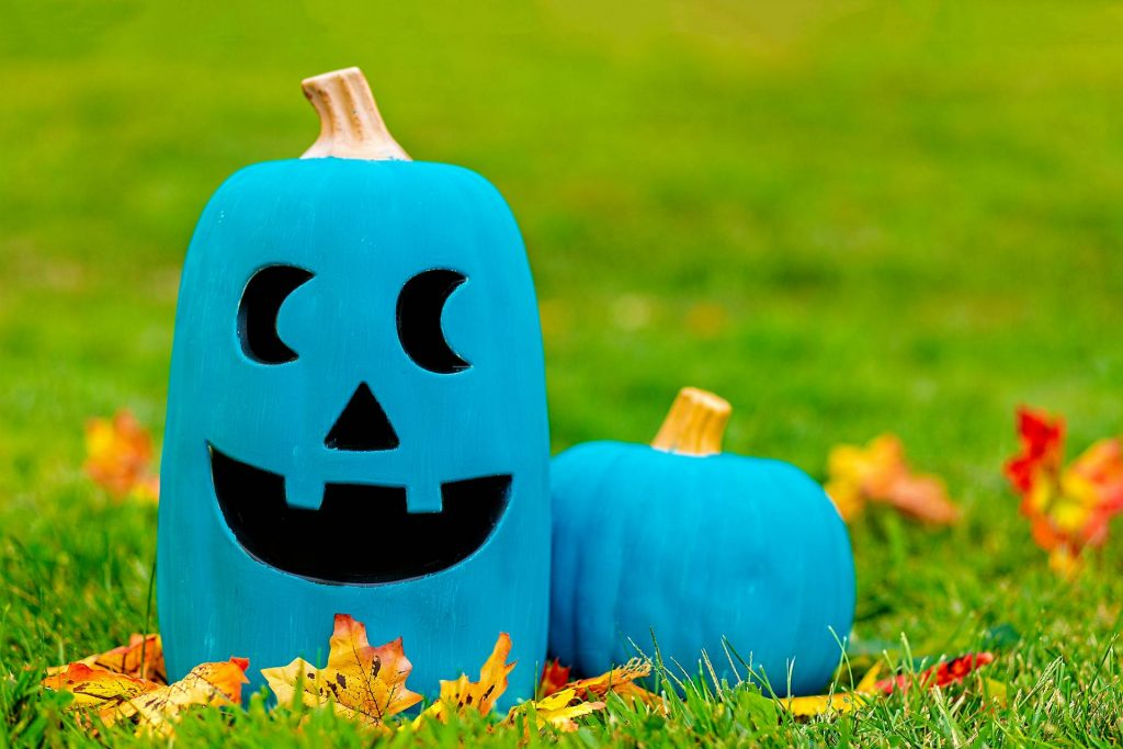 Teal Pumpkin Project for nut allergy gluten free Paleo Halloween trick or treating
