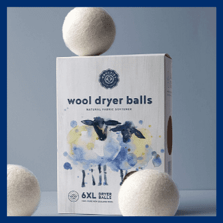 holiday gift guide wool dryer balls