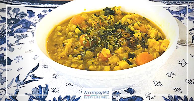 Immune Boosting Turmeric Soup